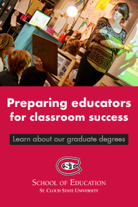 Learn about St. Cloud State University graduate degrees in education.